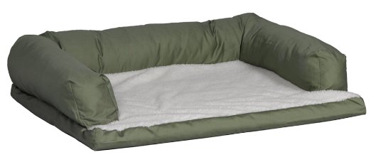 Midwest Quiet Time e'Sensuals Bolstered Orthopedic Foam Pet Bed Sofa