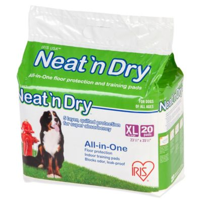 IRIS Neat 'n Dry Floor Protection for Puppies and Dogs