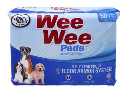 best puppy training pads - wee wee pads