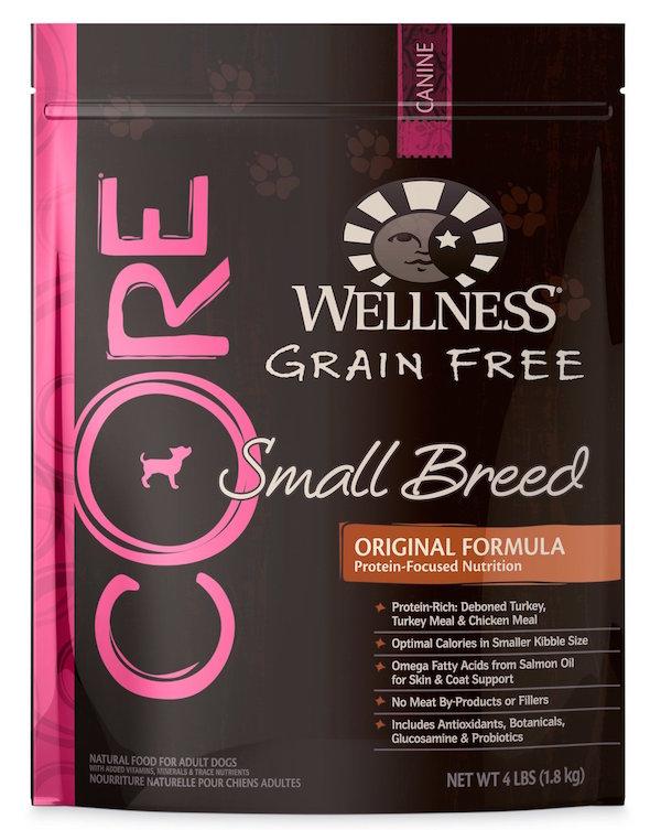 Wellness Grain Free Small Breed Original Formula Dog Food cdet