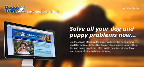 A completely online dog training resource